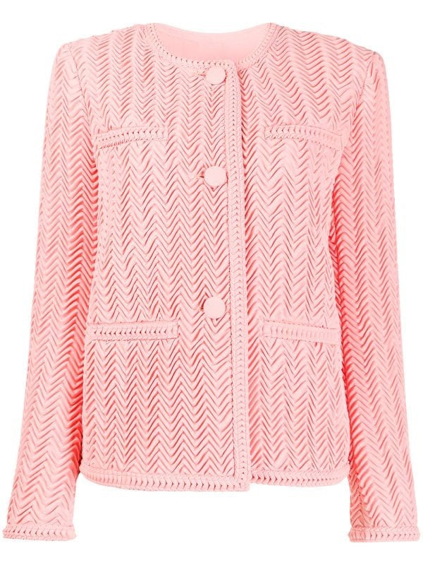 Zig-zag Pleated Jacket