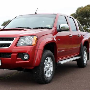 "Holden Colorado RC Dual Cab 3L TD Commonrail Aug 10 to June 2012 - Single 3"" King Brown Exhaust"