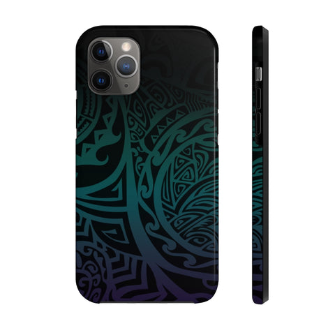 Case Mate Tough Phone Cases - Midnight Teal and Purple