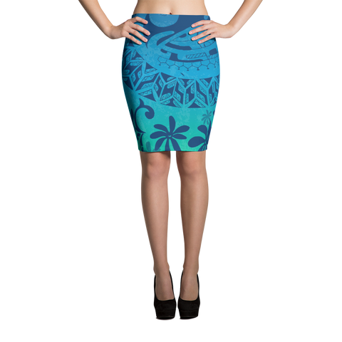 Pencil Skirt - Tatou Enata - Teahupo'o Reef
