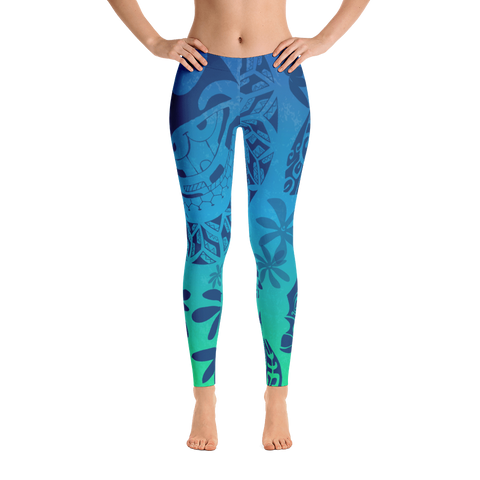 Leggings - Tatou Enata - Teahupo'o Reef