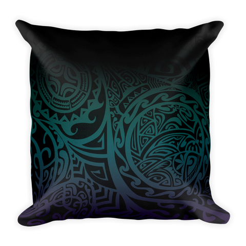 Pillow - Tatou V - Midnight Teal & Purple