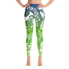 Yoga Leggings - Tatou Enata - Huahine Rainforest