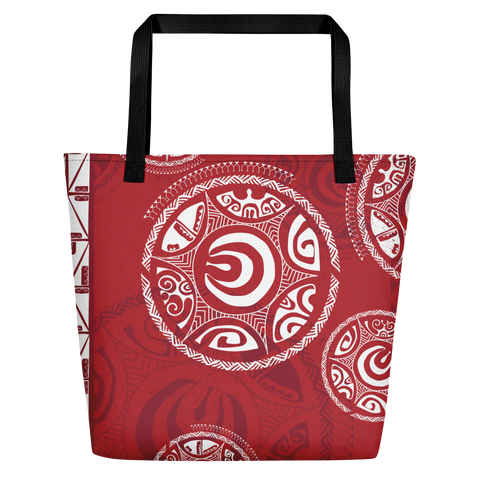 Beach Bag - Tatou III - Ari'i Red