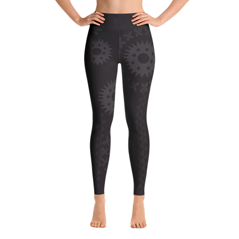 Yoga Leggings - Kapa - Lava Rock