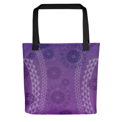 Tote Bag - Kapa - Passion Fruit Flower