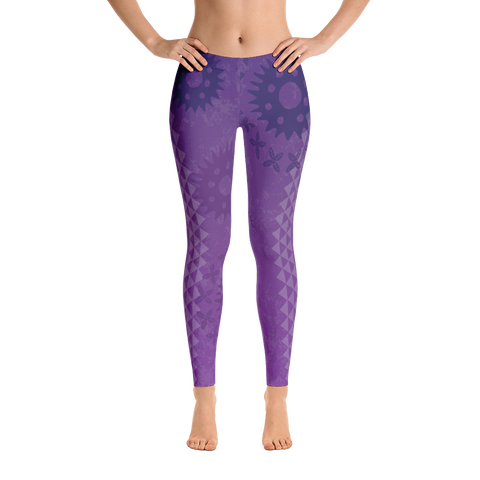 Leggings - Kapa - Passion Fruit Flower