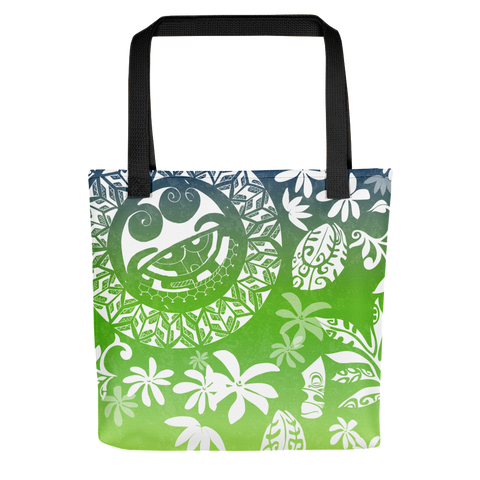 Tote Bag - Tatou Enata - Huahine Rainforest