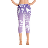 Capri Leggings - Tatou Enata - Purple Vahine
