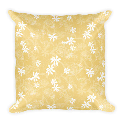 Pillow - Maeva Pareu - Mustard