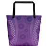 Beach Bag - Kapa - Passion Fruit Flower