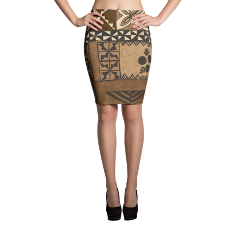 Pencil Skirt - Tonga