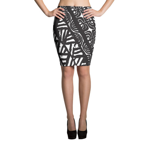 Pencil Skirt - Tatou Piti