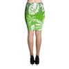 Pencil Skirt - Tatou Enata - Huahine Rainforest