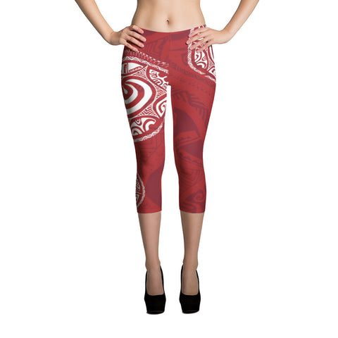 Capri Leggings - Tatou III