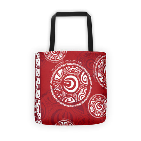 Tote Bag - Tatou III - Ari'i Red
