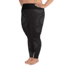All-Over Print Plus Size Leggings - Kapa - Lava Rock