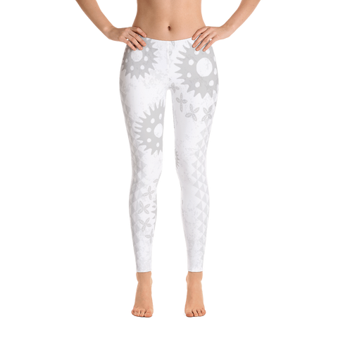 Leggings - Kapa - White
