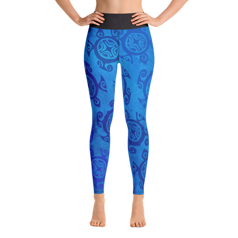 Yoga Leggings - Honu Kai