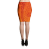 Pencil Skirt - Kapa - Lava Flow