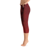 Capri Leggings - Tahiti - Ia Orana Red
