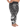 All-Over Print Plus Size Leggings - Tatou II