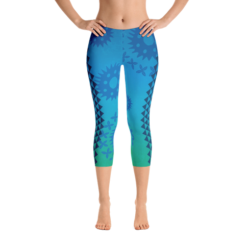 Capri Leggings - Kapa - Waimea Bay