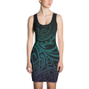 Dress - Tatou V - Midnight Teal & Purple