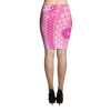Pencil Skirt - Kapa - Maui Pink