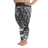 All-Over Print Plus Size Leggings - Tatou Piti