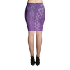 Pencil Skirt - Kapa - Passion Fruit Flower