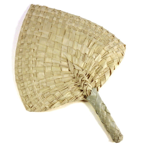 Samoan Coconut Leaf Fan
