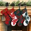 Hand Quilted Hawaiian Christmas Stockings