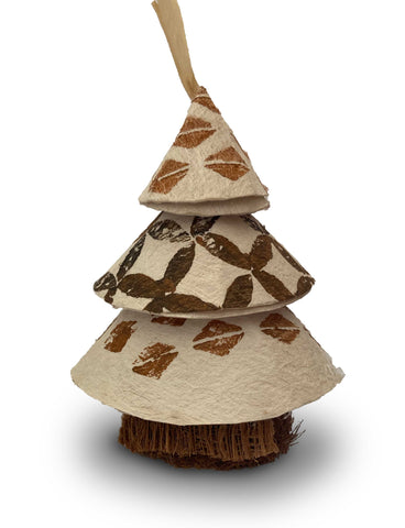 Tapa Tree Ornament