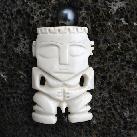 Tahitian Tiki Necklace