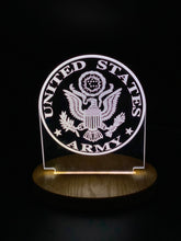 Load image into Gallery viewer, LED Acrylic Light-Military