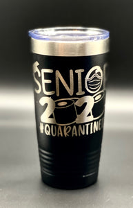 Tumbler 20 oz with your graphic, logo, wording, etc.