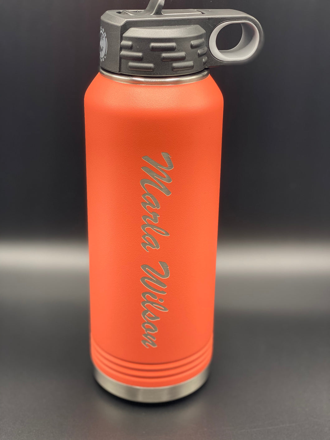 Tumbler 32oz water bottle with your graphic, logo, wording, etc.