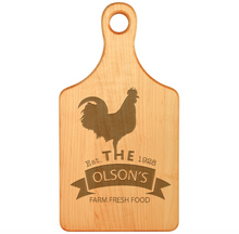 Load image into Gallery viewer, Engraved Cutting Boards-Maple Hardwood With Handle