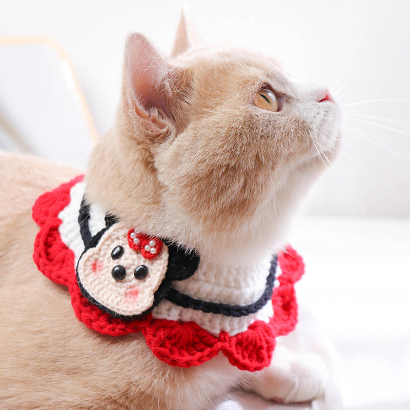 Mickey And Minnie Hand-Made Collar