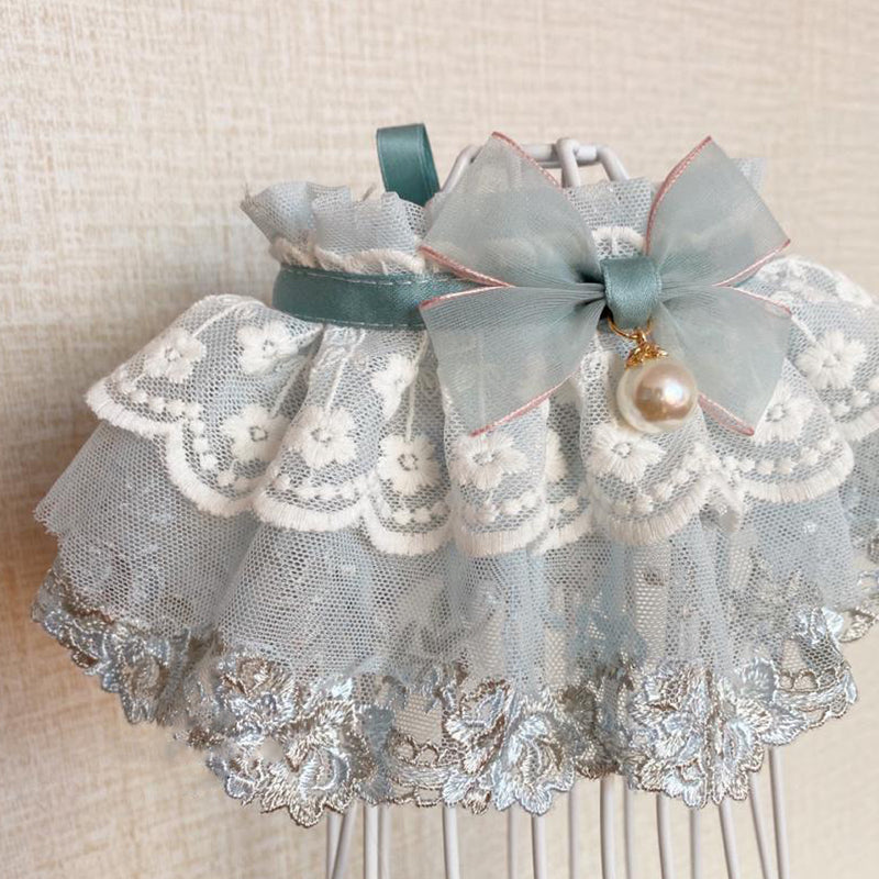 Angel Babe Lace&Tulle Hand-Made Collar