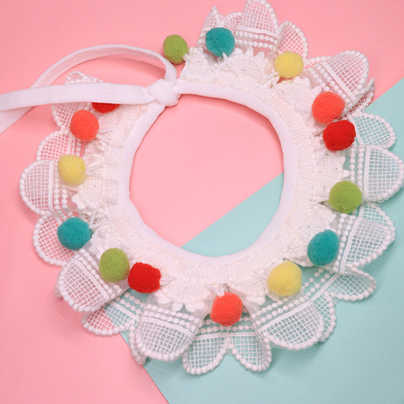 Candy Bar Lace Bell Hand-Made Collar