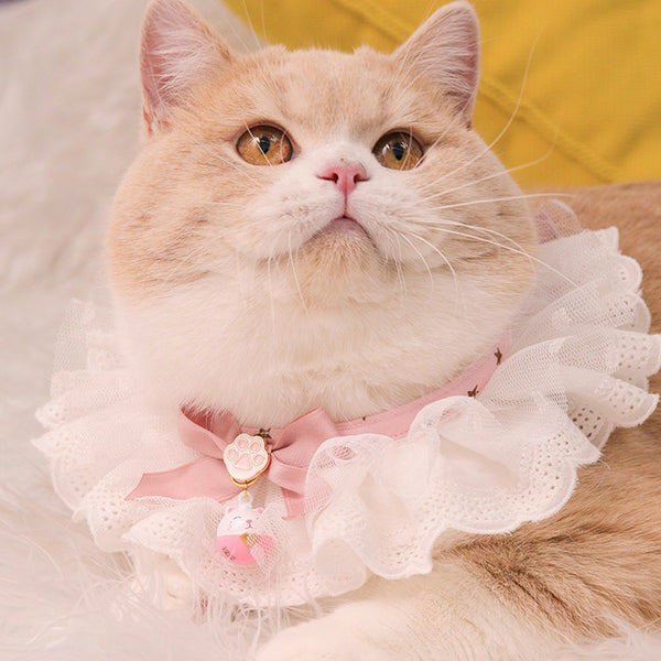 Princess Lace&Tulle Hand-Made Collar