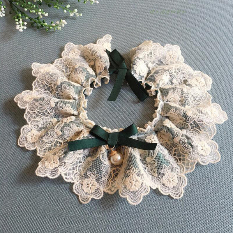 Noble Babe Lace&Tulle Hand-Made Collar