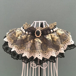 Cool Vibe Lace&Tulle Hand-Made Collar