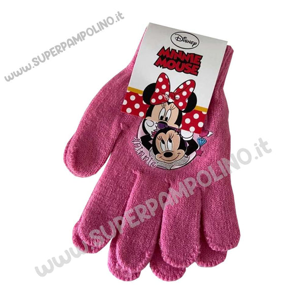 Guanti Disney Minnie Mouse Rosa