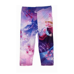 Leggings 3/4 Bambina Disney Frozen Anna Viola