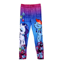Leggings lungo Bimba My Little Pony Rosa | Rainbow Dash Rarity
