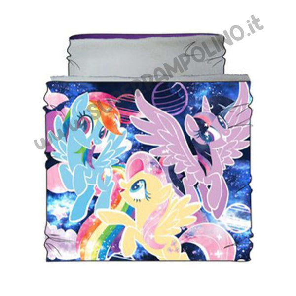 Scaldacollo My Little Pony Bianco (con gift mask)