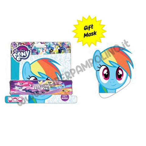 Scaldacollo Bambina My Little Pony Bianco con gift mask